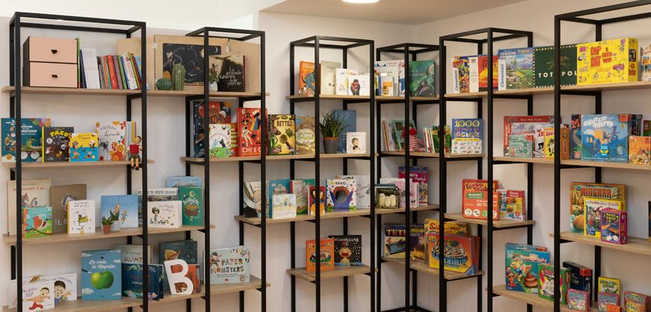 Biblioteca - Spazi - Abilita